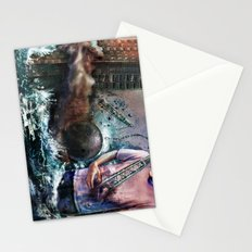 Wrecking Ball Listener Panorama Stationery Cards