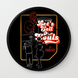 Let's Sell Our Souls / Black Magic / Devil Wall Clock