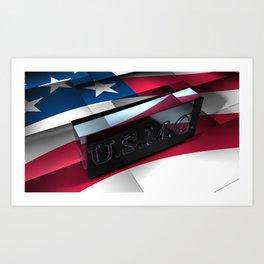 United States Marine Corps Art Print