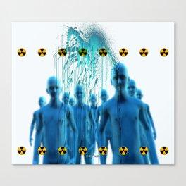 Aliens Gang & Acid Radioactivity Cure Canvas Print
