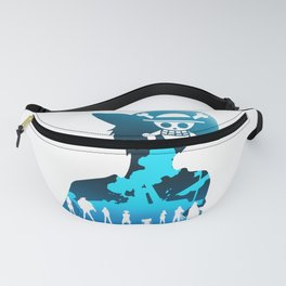 One Piece Pirate King Fanny Pack