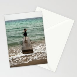 The Woman And The Sea Stationery Cards