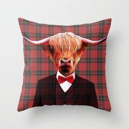 Sir Coo Throw Pillow