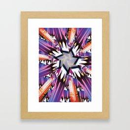 Pattern2 Framed Art Print