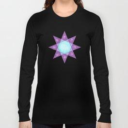 MESSAGE SHARING STAR  Long Sleeve T-shirt