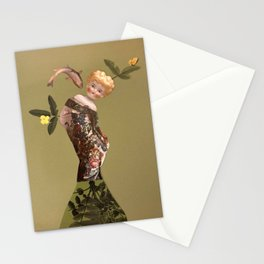 Old doll Stationery Cards
