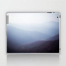 Foggy mountains Laptop & iPad Skin