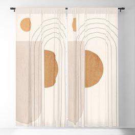 Minimal Geometric 104 Blackout Curtain