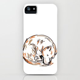 Tero Sleeping I iPhone Case