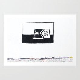 shit luck II Art Print