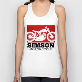 Simson Moped Hart Lover Poison T-Shirt Unisex Tank Top