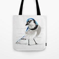Blue Jay (Cyanocitta cristata) Tote Bag