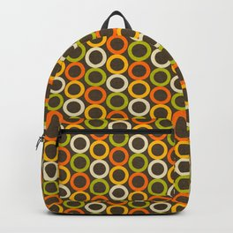 Earth Mod Abstract Hallow Brown Backpack