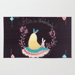 Alice In Wonderland. Rug