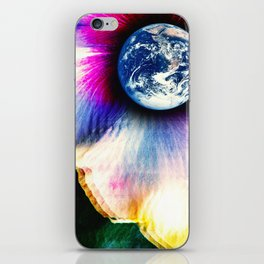 WORLD TURNS iPhone Skin