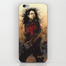 Tom Araya iPhone Skin