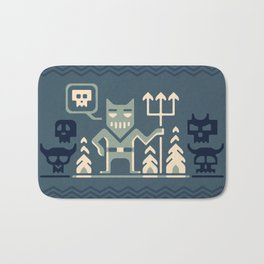 Skull collector Bath Mat