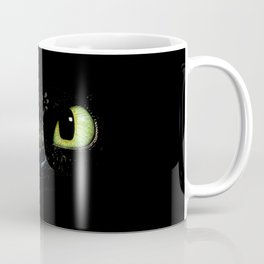HTTYD Toothless Fiery Eyes Coffee Mug