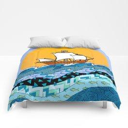 Sailing the High Seas Comforters