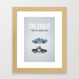 Car Chase Framed Art Print