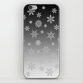 Snow Flurries iPhone Skin