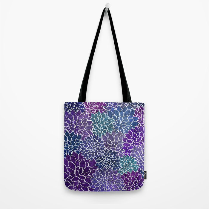 Floral Abstract 22 Tote Bag
