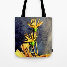 Grizzled Gazanias Tote Bag