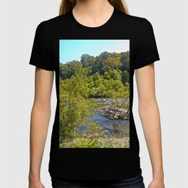 A glimpse of the beautiful river T-shirt