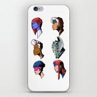xmen iPhone & iPod Skins featuring spce girls by jason st paul