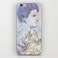 virgo iPhone & iPod Skins featuring Virgo by Csangal