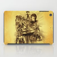 mad max iPad Cases featuring Homage to Mad Max by Giorgio Finamore