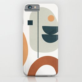 Minimal Shapes No.37 iPhone Case