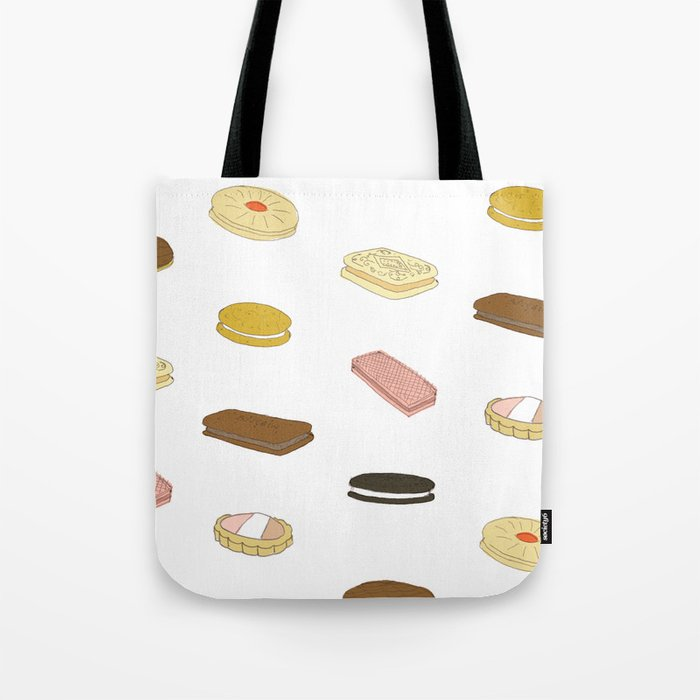 biscui - biscuit pattern Tote Bag