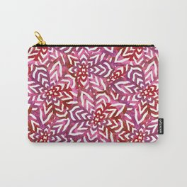 I don't need to improve - Pink and red Carry-All Pouch