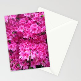 Bumbling Amidst the Azaleas Stationery Cards