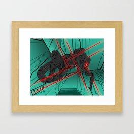 ULTRACRASH 2 Framed Art Print