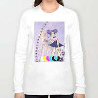 ferris wheel Long Sleeve T-shirts featuring Ferris Wheel by Aleksander Cacic