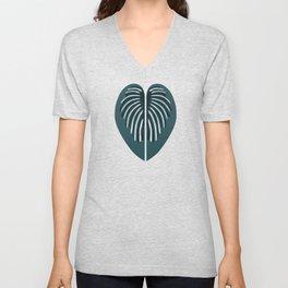 Hjärtblad Unisex V-Neck