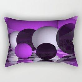 3D - abstraction -111- Rectangular Pillow