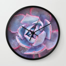 Laced with Pink Wall Clock