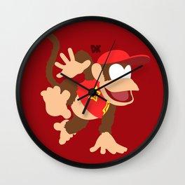 DIDDY KONG(SMASH) Wall Clock