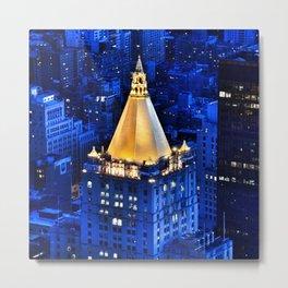 New York Life Building Metal Print