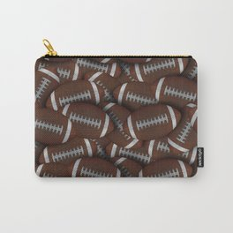 Footballs Footballs Everywhere Carry-All Pouch