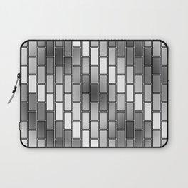 BRICK WALL #2 (Grays & White) Laptop Sleeve