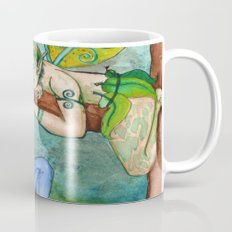 The Wood Nymph and the Lumberjack Mug