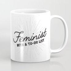 Feminist With a To-Do List Mug