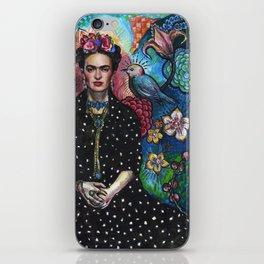 Frida Kahlo Portrait (4) iPhone Skin