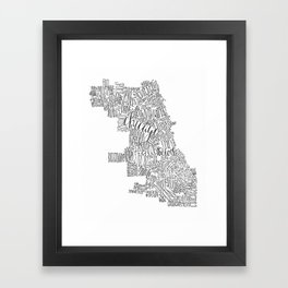 EED - Chicago Framed Art Print