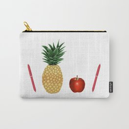 Pen Pineapple Apple Pen - PPAP - Homage - Funny - 57 Montgomery Ave Carry-All Pouch