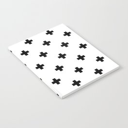 Swiss cross pattern Notebook